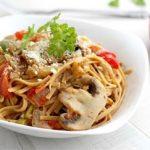 روش تهیه اسپاگتی سبزیجات