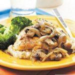 آموزش خوراک مرغ و قارچ