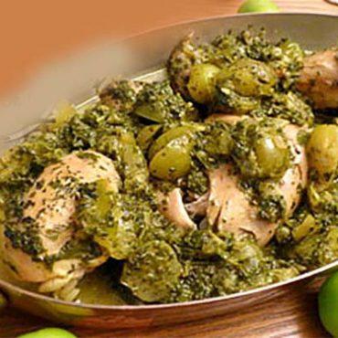 روش تهیه خورشت گوجه سبز