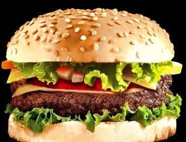 آموزش تهیه همبرگر ذغالی