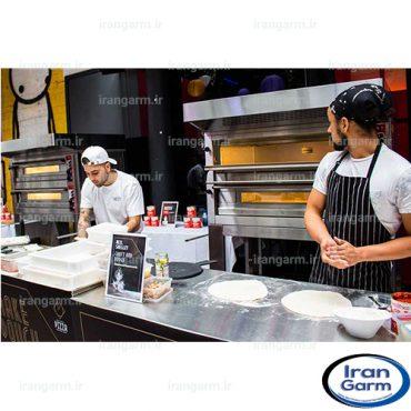 هود صنعتی پیتزا فروشی